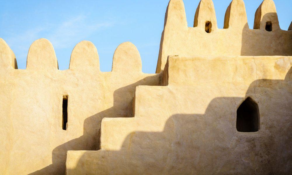 Le remparts du Fort de Al Bithna