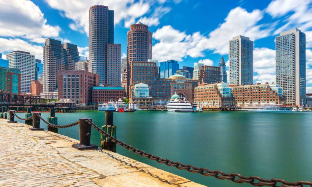 Vue de Boston