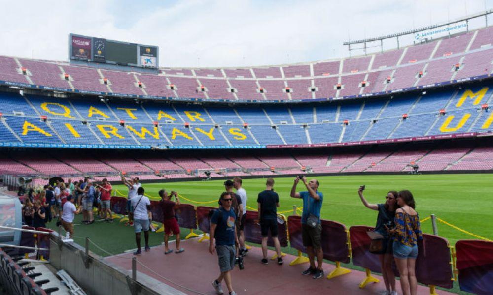 Visite du Stade de football du FC Barcelona