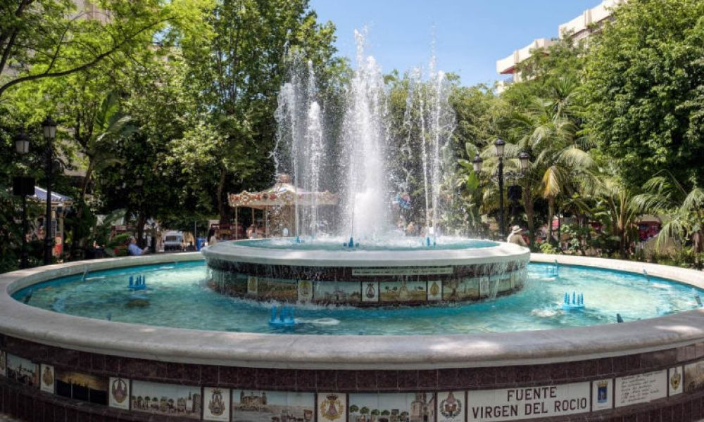 Fontaine Virgen del Rocío
