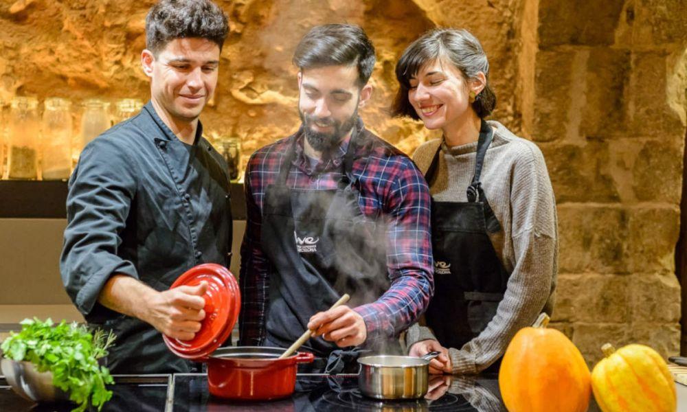 L'atelier de paella à Barcelone
