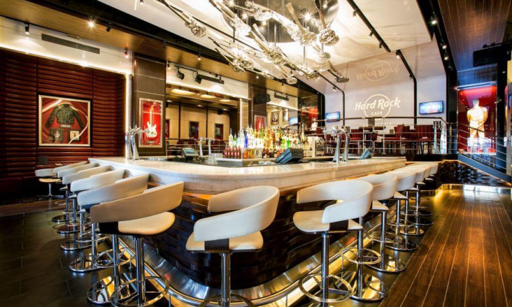 Intérieur du Hard Rock Cafe Barcelona