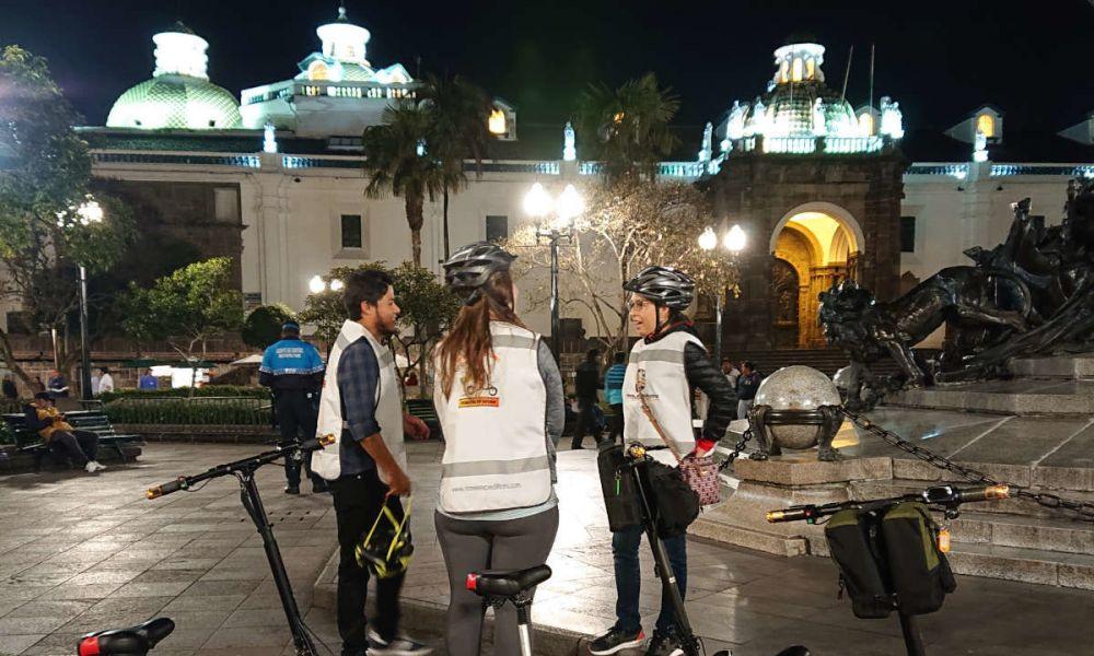 Balade dans Quito en trottinette électrique