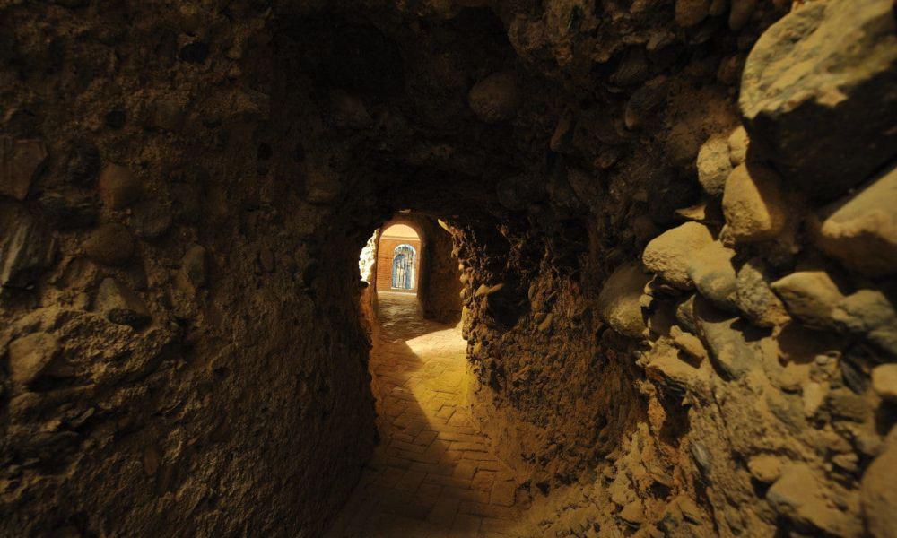 Les grottes saintes (Cuevas Santas)