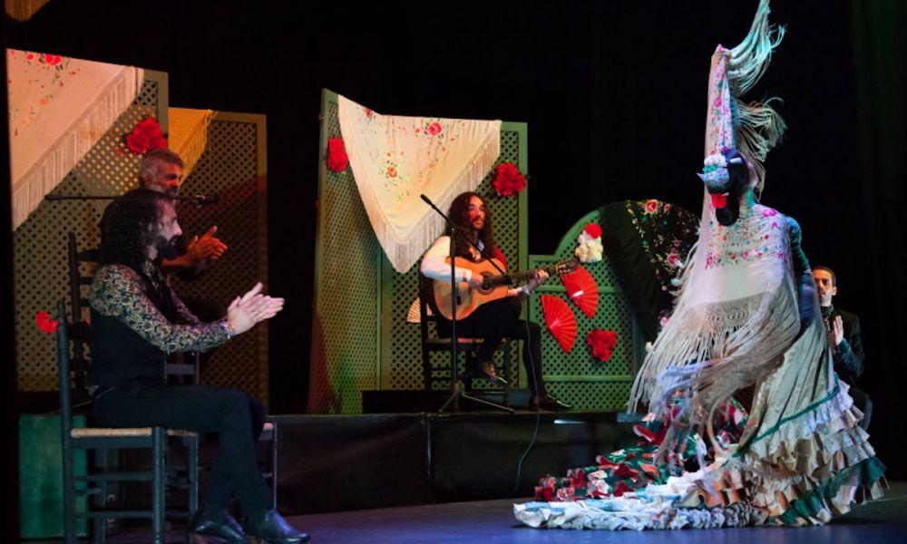 La danseuse de flamenco Marisa Risu