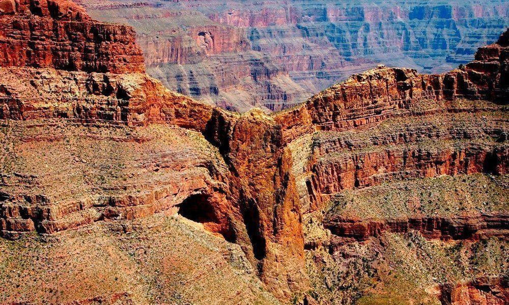 Eagle Point dans le Grand Canyon West