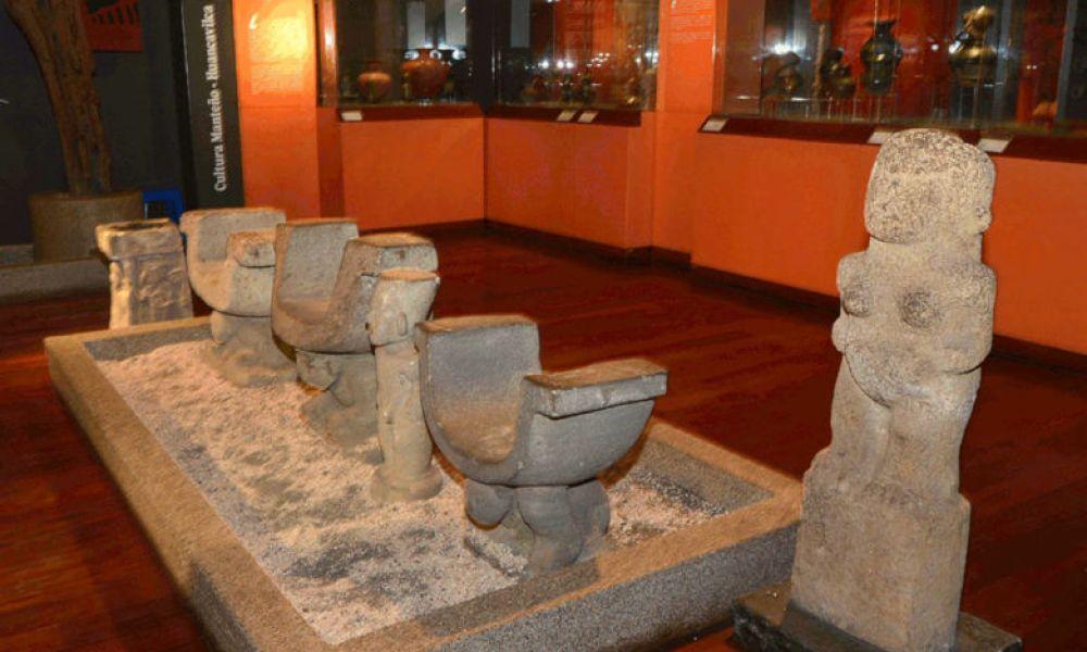 L'exposition archéologique du musée de la ville de Guayaquil