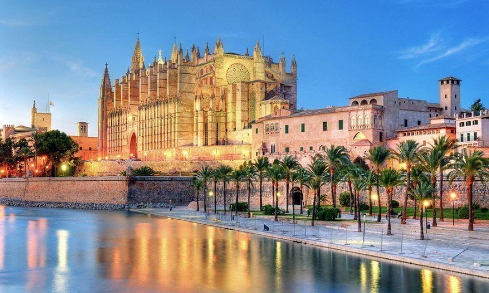 La Cathédrale de Majorque, impressionnante...