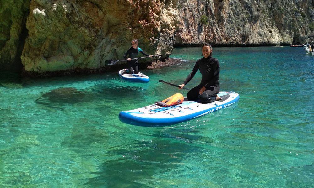 Paddle sur la côte de Valence