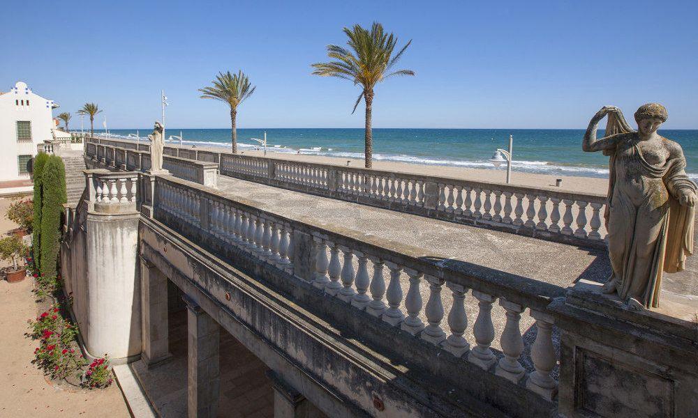 La terrasse panoramique du musée