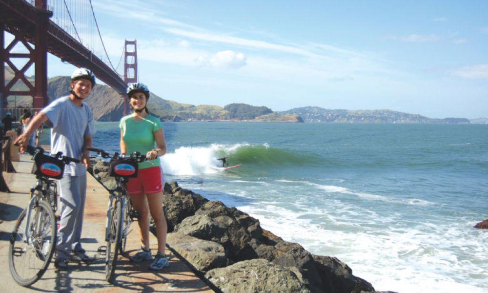 Faire du vélo à San Francisco