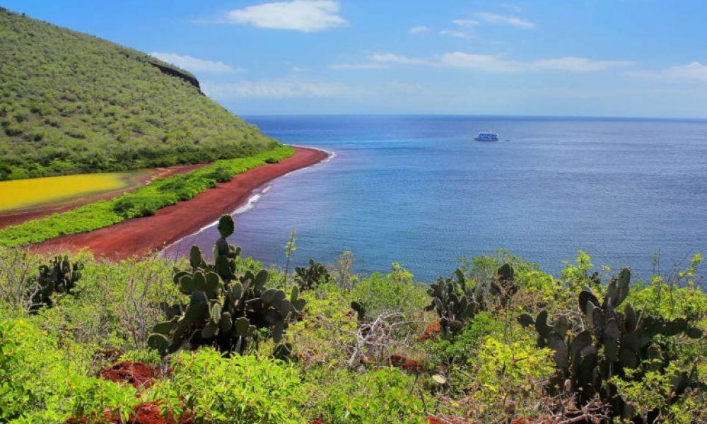Paysages de l'île Rabida