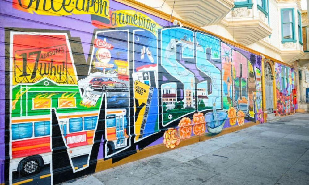 Le street art à San Francisco