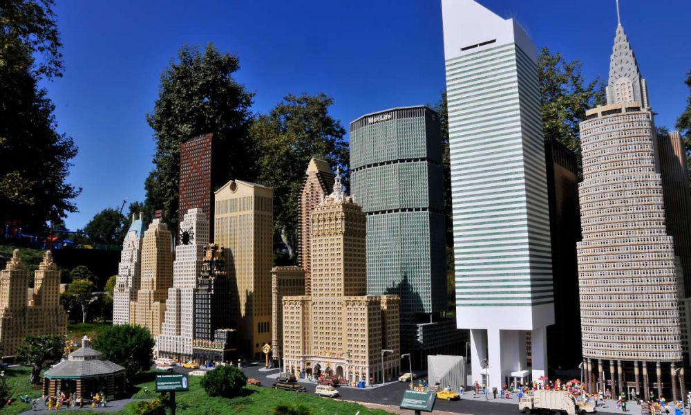 Gratte-ciels de Lego