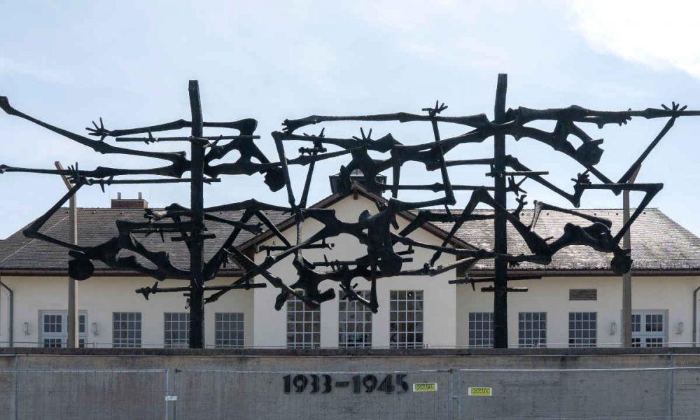 Une sculpture de Dachau