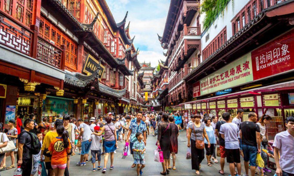 Rue typique de Shanghai