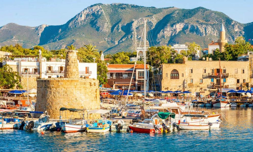Vue panoramique sur Kyrenia