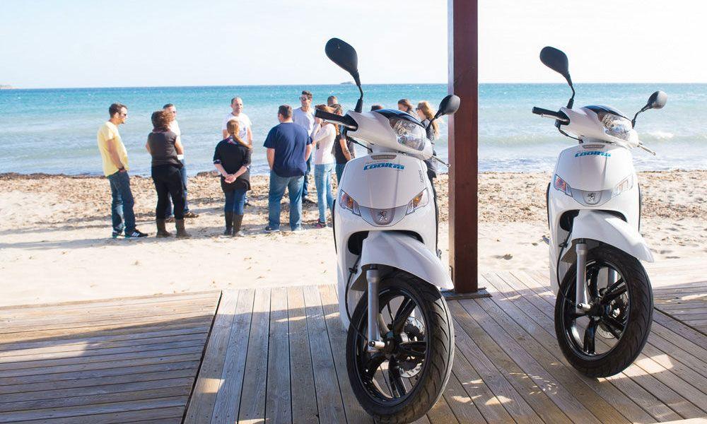 Location de scooters à Formentera