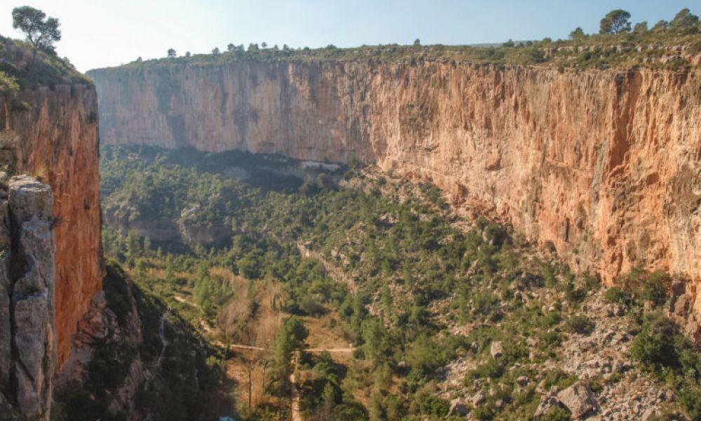 Le canyon de los Calderones