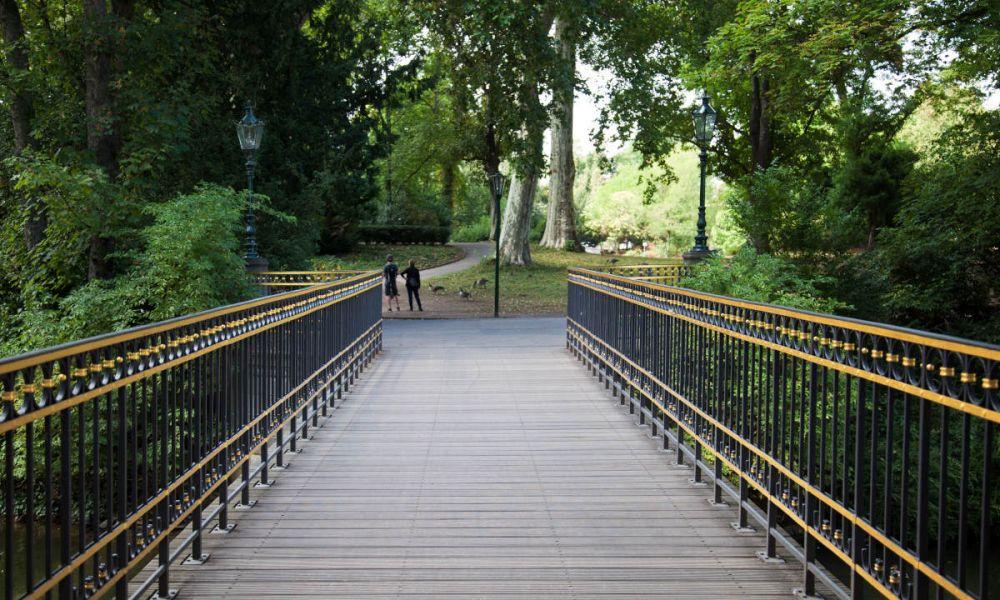 Le Hofgarten, un parc baroque