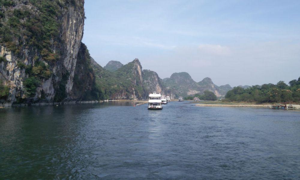 Sillonnez la rivière Li