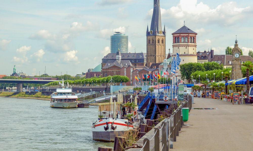 Le centre historique de Düsseldorf