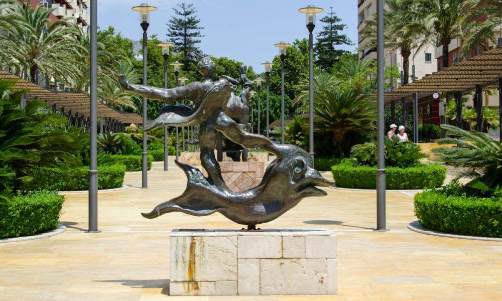 Sculptures de Dali à Marbella