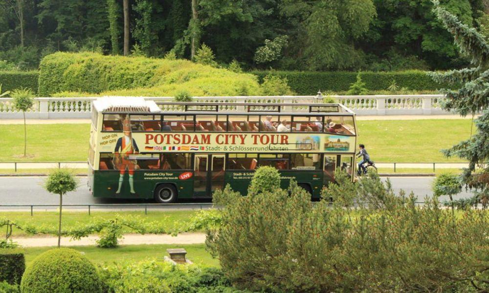 Le bus touristique de Potsdam