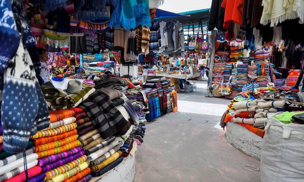 Le marché d'Otavalo