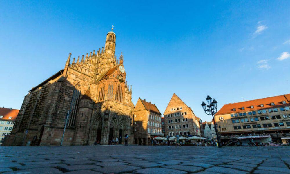 La place de Hauptmarkt