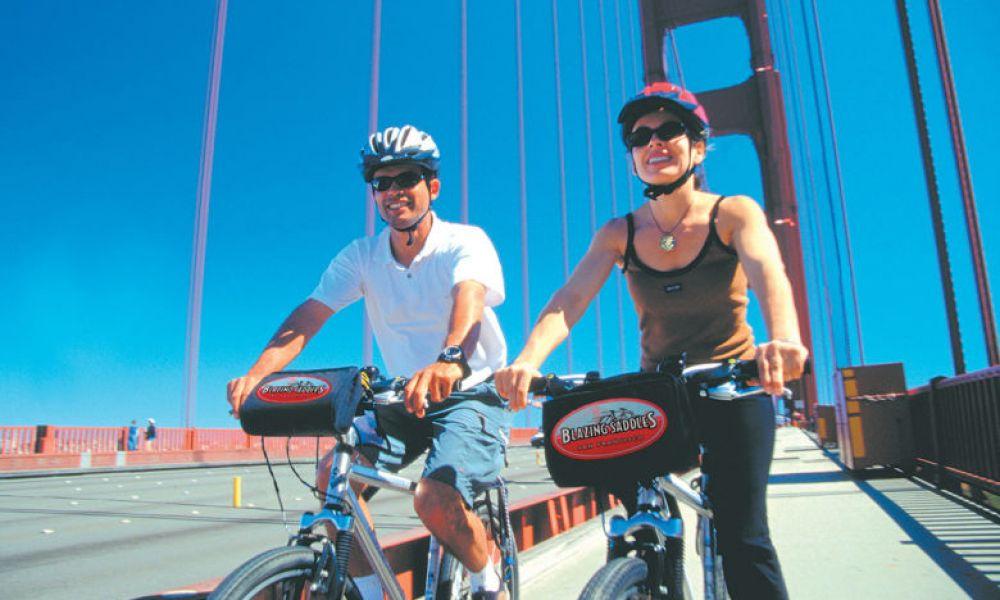 Voir le Golden Gate à vélo