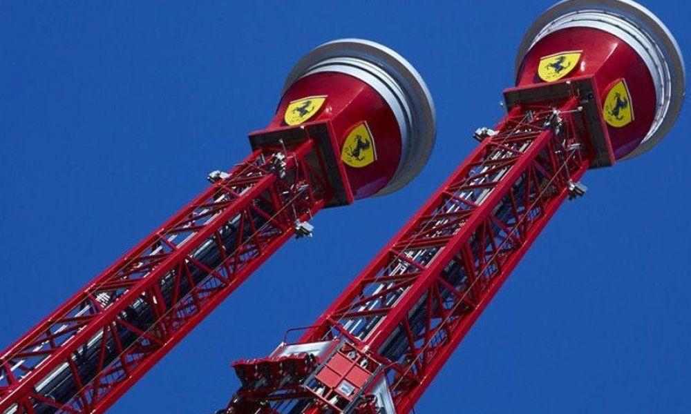 Les tours de la chute libre