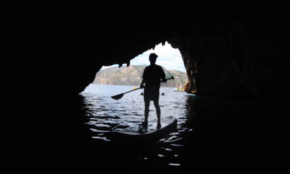 Entrée de la Cueva del Lobo Marino