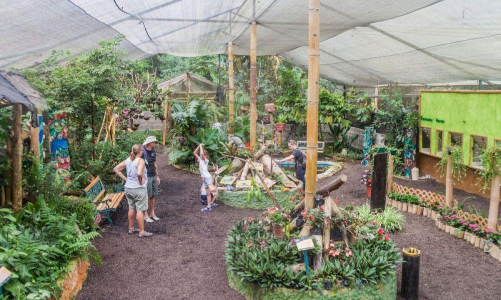 Jardin interactif de la ferme