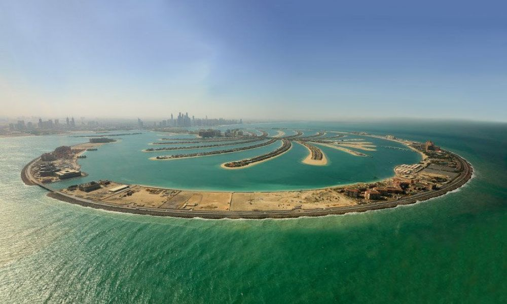 Île artificielle de Palm Jumeirah