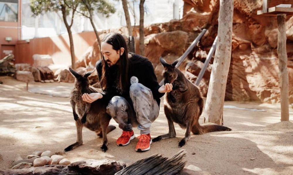 Échange avec les kangourous