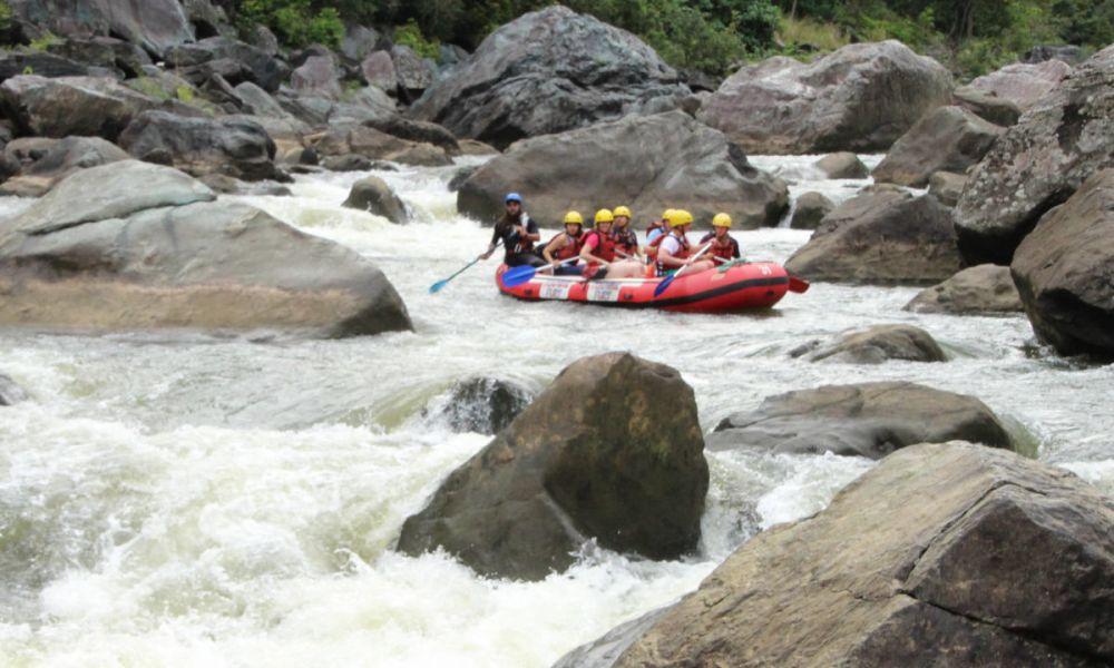 Rafting dans le Parc national des gorges de la Barron