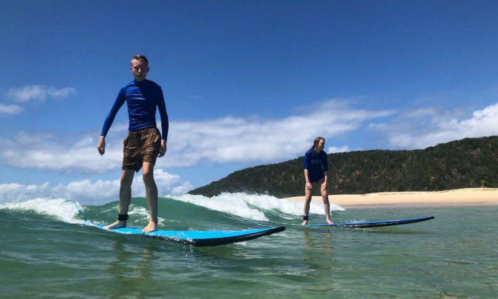 Apprendre les techniques de surf