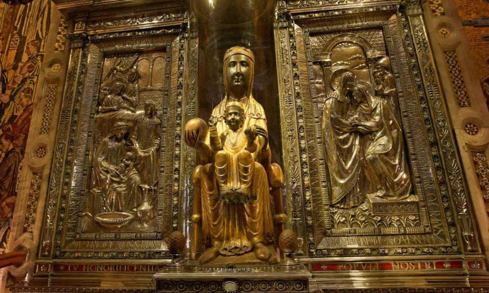 Vièrge de Montserrat ou Moreneta, patronne de Catalogne