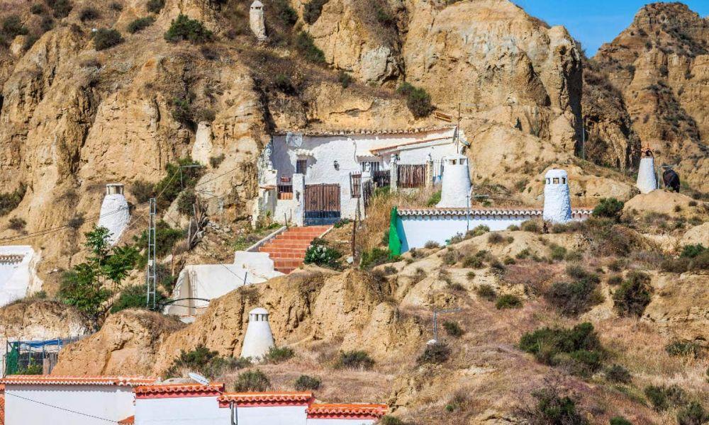 Maisons troglodytes de Guadix