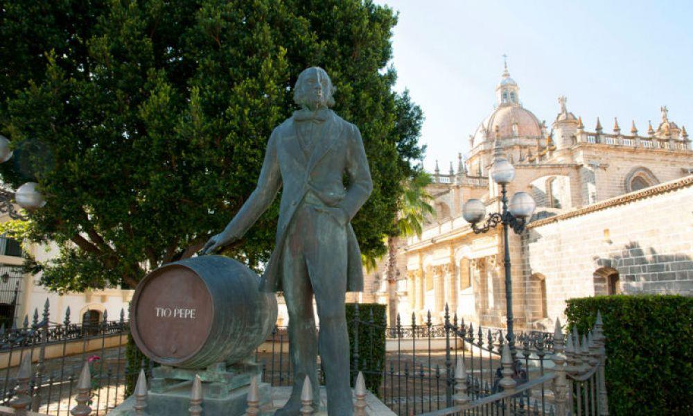 Statue de Tío Pepe