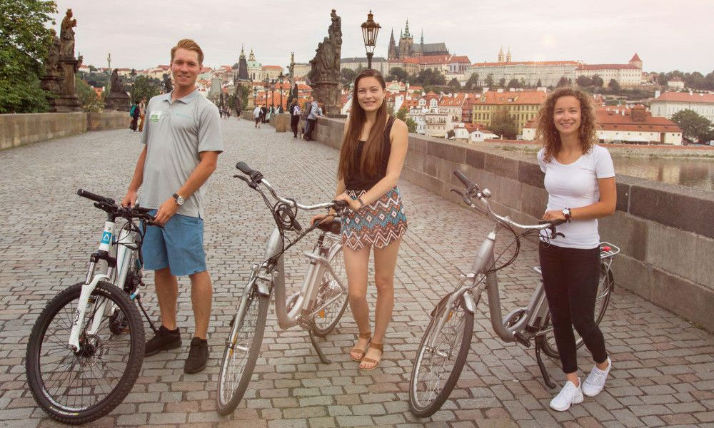 Tour de Prague à vélo
