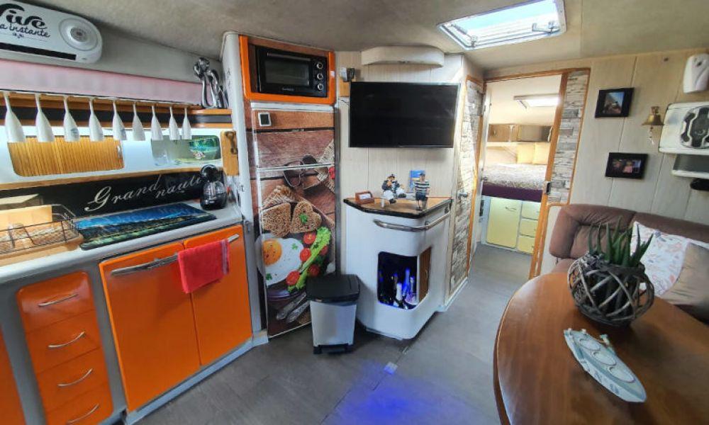 La cuisine du yacht privé de Fuengirola