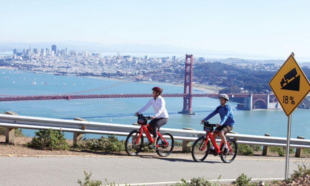 Balade à velo dans San Francisco