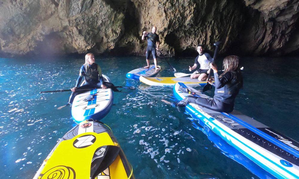 Dans la Cueva del Lobo Marino