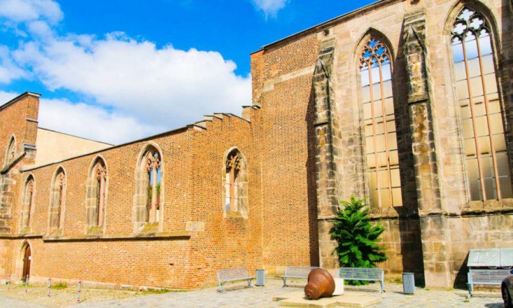 Les ruines de l'Église Sainte-Catherine