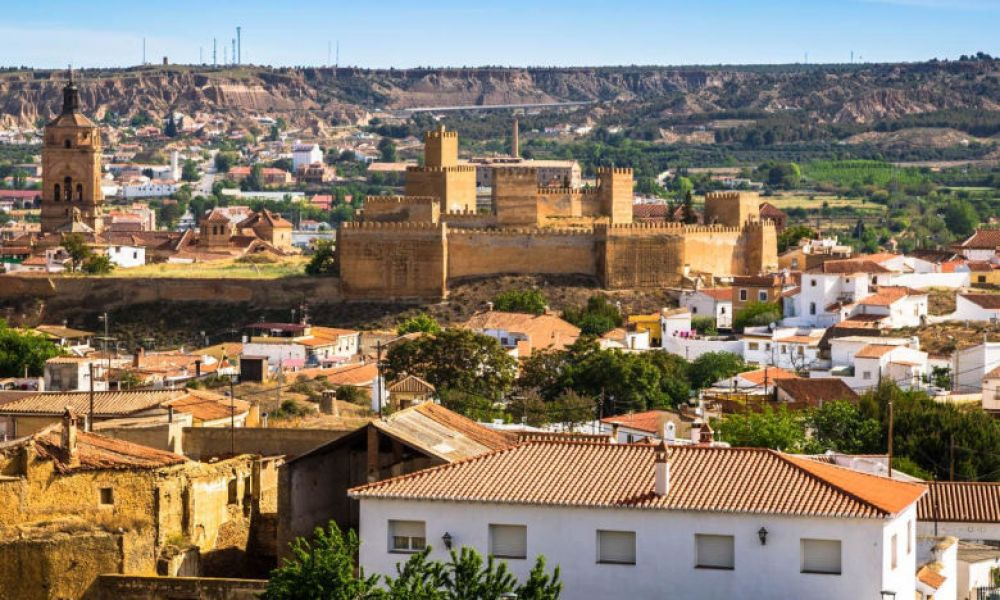 Panoramique du village grenadien Guadix