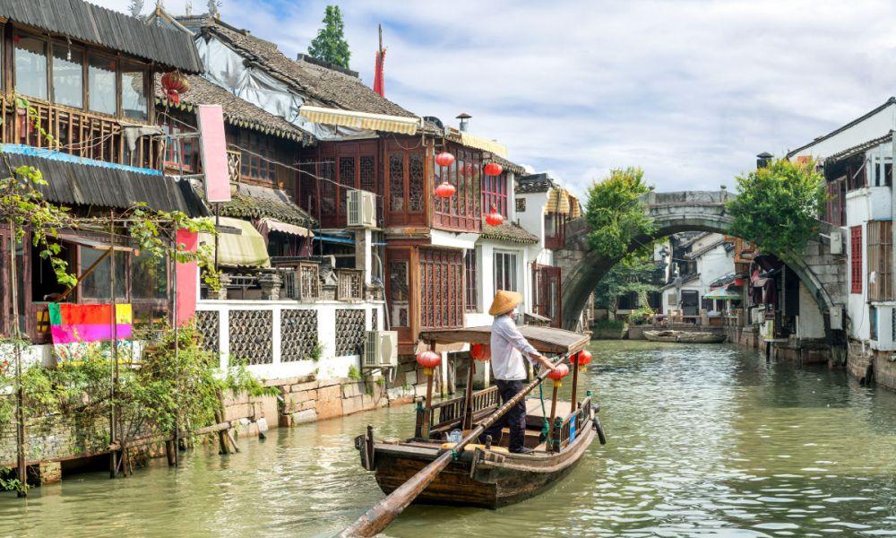 La Ville des eaux de Zhujiajiao