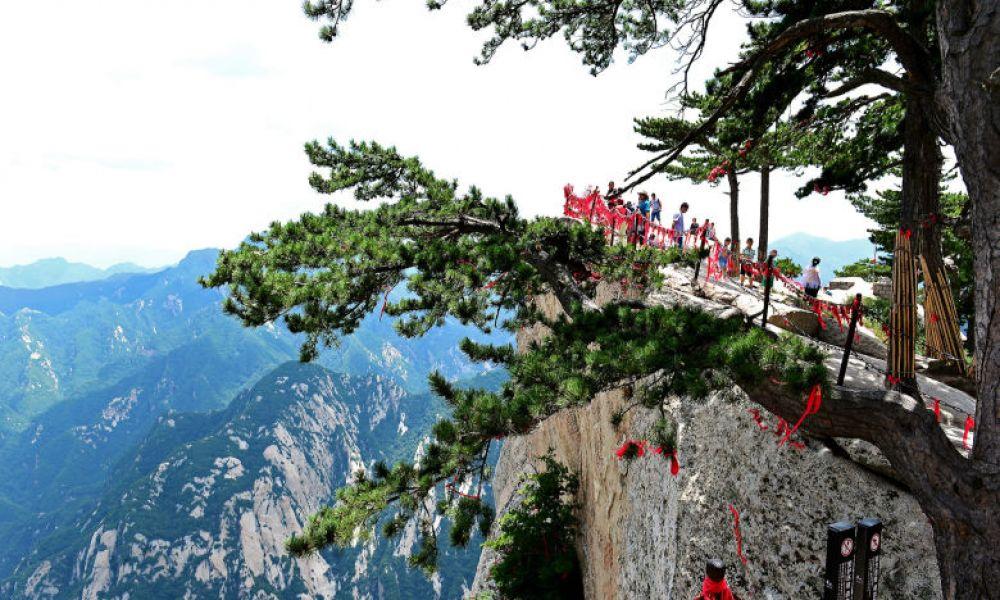 Vue depuis le Mont Huashan
