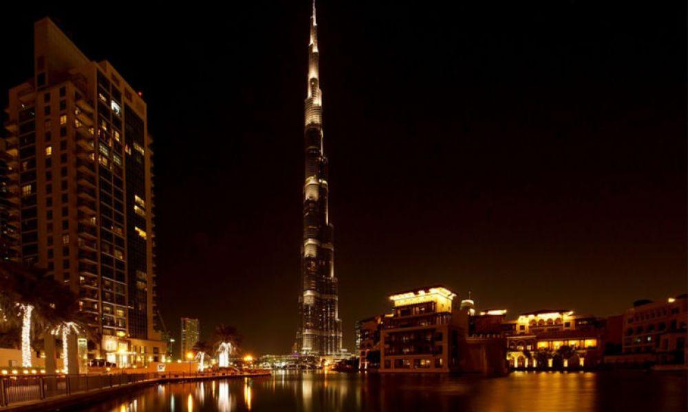 Vue depuis le Burj Khalifa